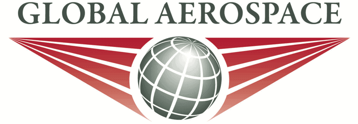 Global Aerospace black and red logo for Verifly drone insurance