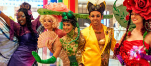 Performers at an event for events and entertainment insurance by Thimble