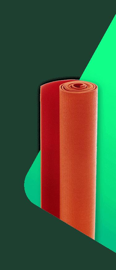 yoga, zumba, pilates mat for insurance