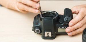 Equipment breakdown coverage for camera damage