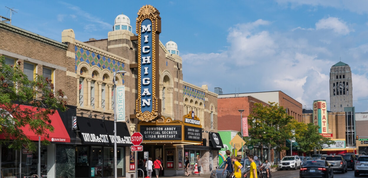Michigan theater - business insurance in MI
