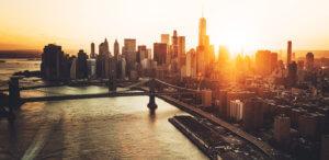 New York skyline for business insurance in new york