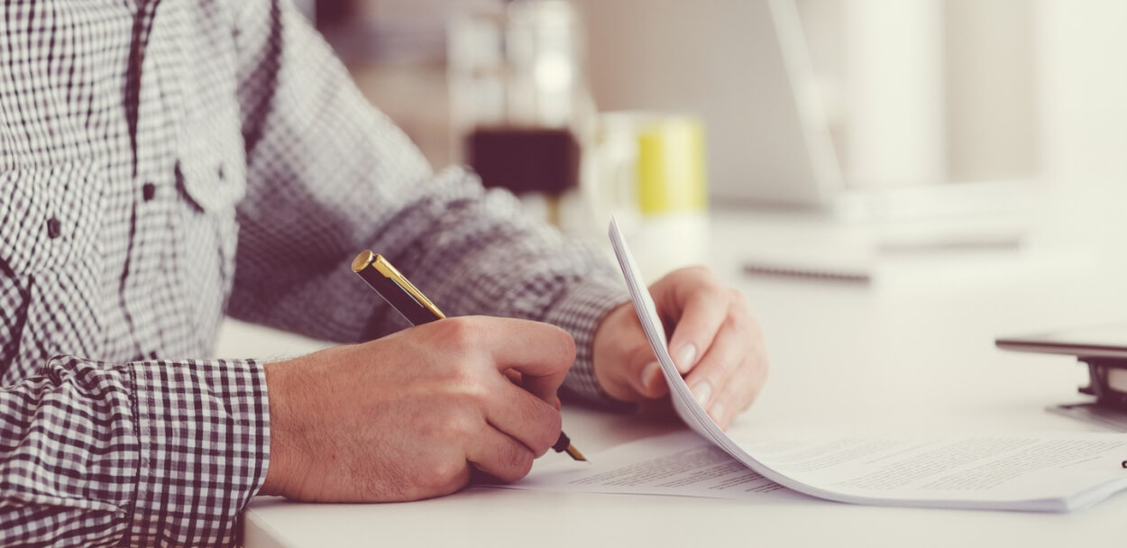 signing a public liability insurance policy
