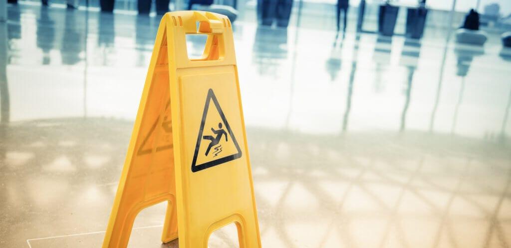 caution side for premise liability