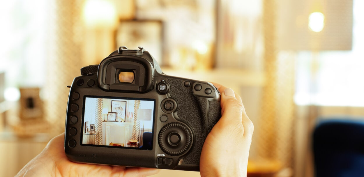 taking real estate photographs