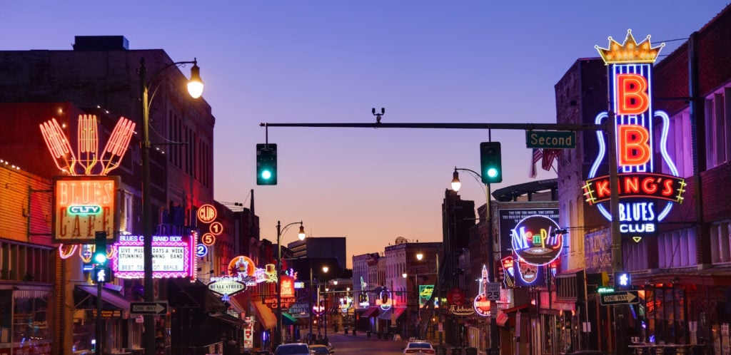 Beale St Memphis Tennessee