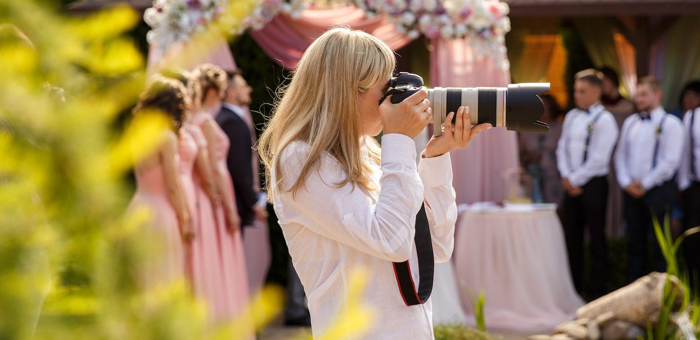 Best Lens for Wedding Photography | Thimble