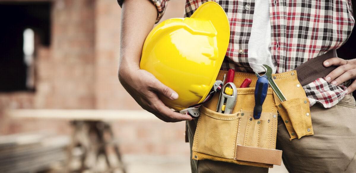 handyman on a site